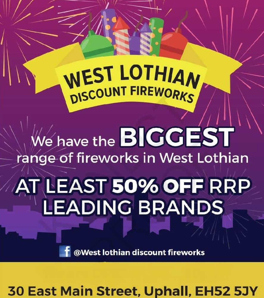 West Lothian Discount Fireworks
