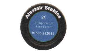 Alastair Stables at Pumpherston Auto Centre