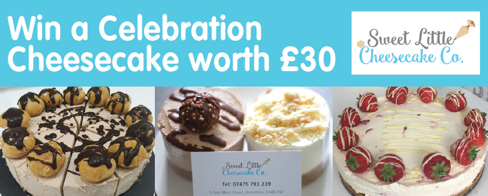 Win a Celebration Cheesecake worth £30