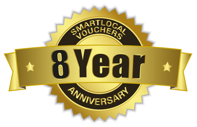 Smartlocal Vouchers - Celebrating 7 years in business